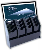 Acryldisplay 05, Plexidisplays, Acrylaufsteller, Handyhalter