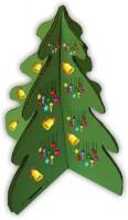 Kartondisplay 25, Karton Christbaum, Karton Weihnachtsbaum