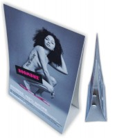 Kartonplakate 05, Schaufensterplakate, Hohlwandplakat