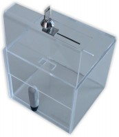 Sammelbox 08, Losbox aus Acryl