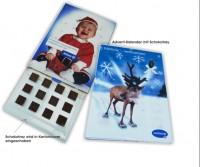 Adventkalender 01, Schokokalender, Weihnachtskalender, Adventskalender